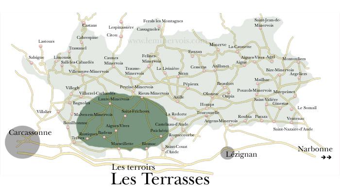 """Terroir """"les Terrasses"""" du Minervois"""
